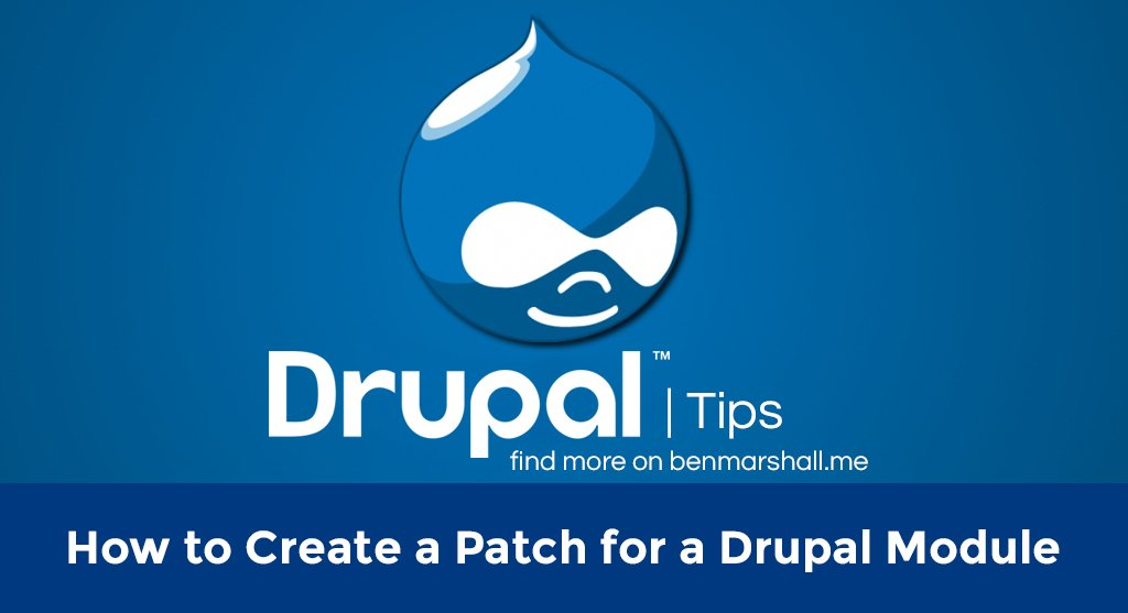 How to Create a Patch for a Drupal Module